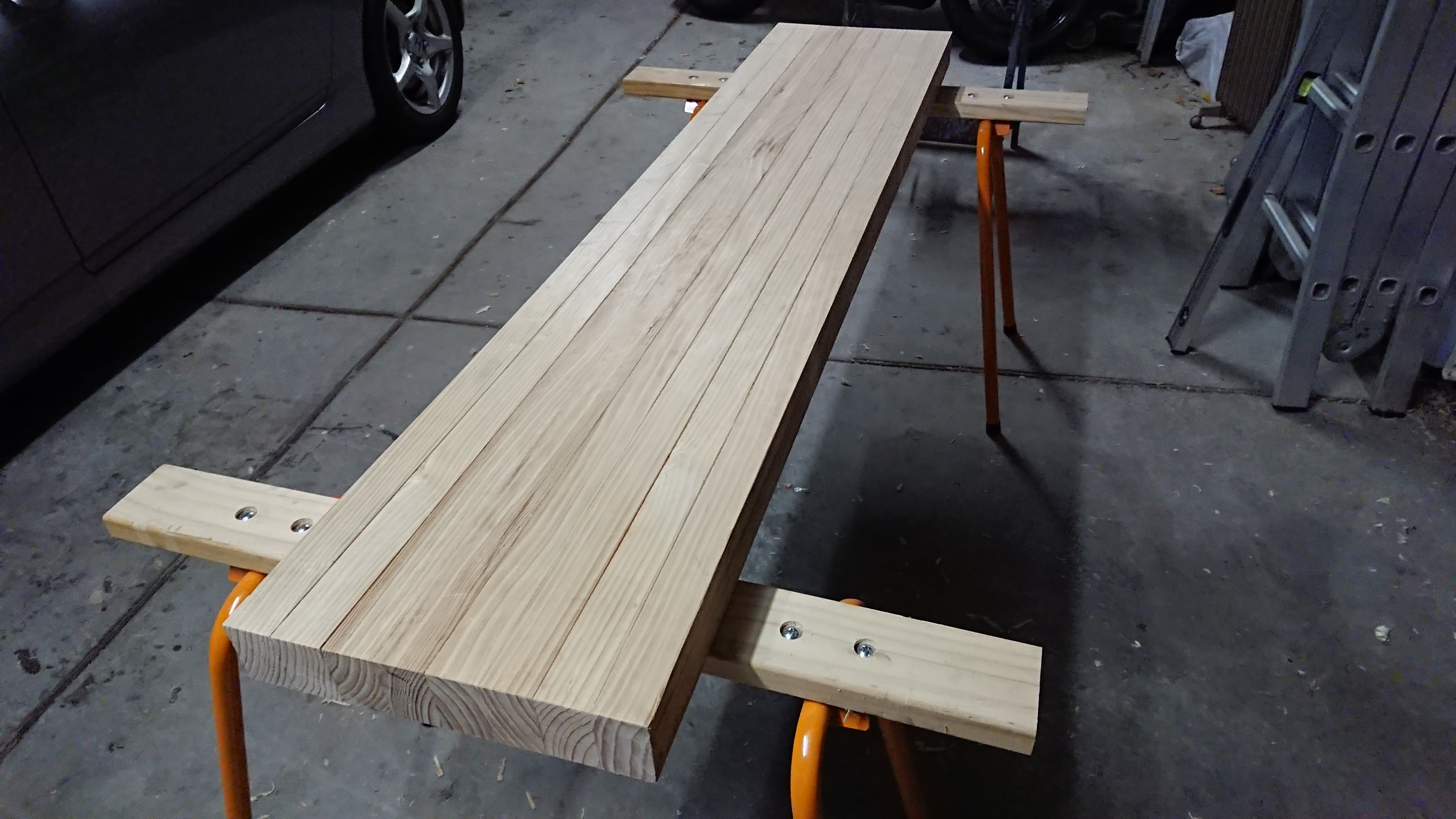 The benchtop cut to length